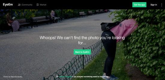 EyeEm - Error 404