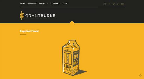 GrantBurke - Error 404
