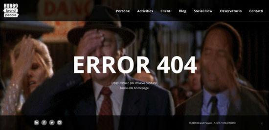 Hub - Error 404