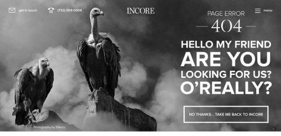 Incore - Error 404