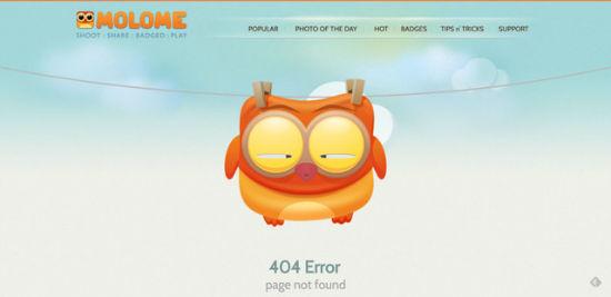 Molome - Error 404