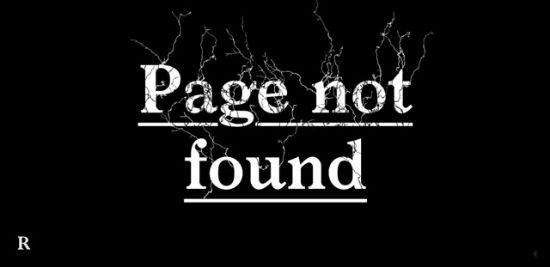 Random Staging - Error 404