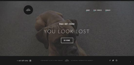 Spry Group - Error 404
