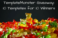 TemplateMonster Giveaway: 10 Templates for 10 Winners