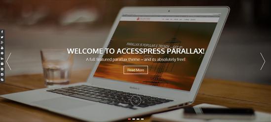 accesspress theme