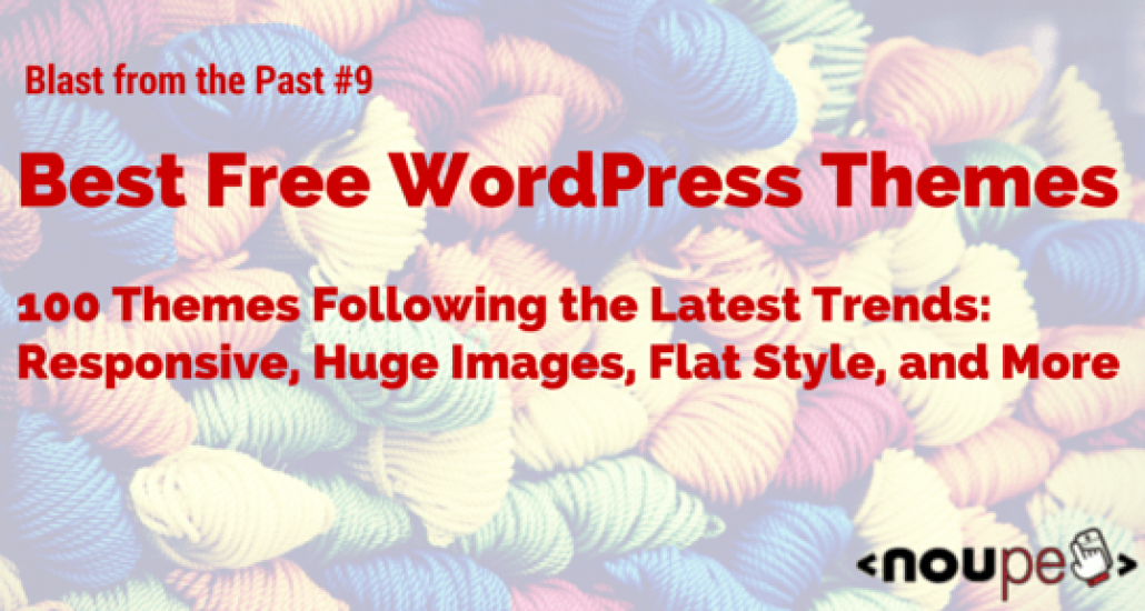 The Best Free WordPress Themes of 2014