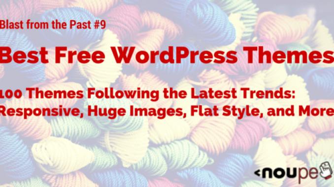 The Best Free WordPress Themes of 2014