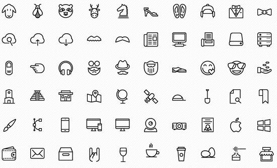 100 ios icons