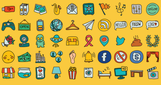 Blast from the Past #2: 100 Great Free Icon Packs of 2014