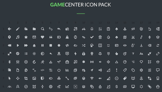gamecenter icons