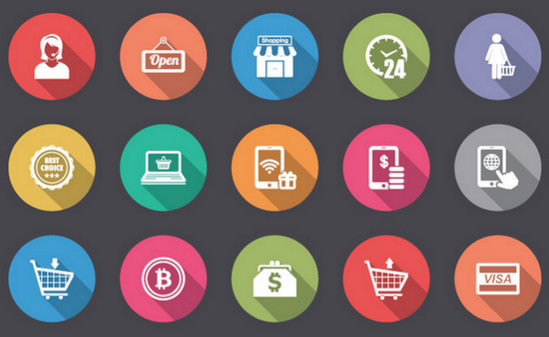 icons for ecommerce