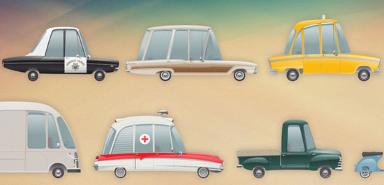 retro vehicles