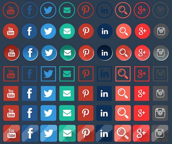 social media huge pack