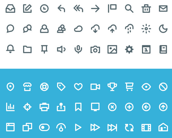 Blast from the Past #2: 100 Great Free Icon Packs of 2014 - noupe