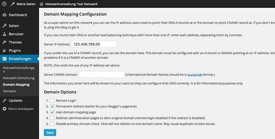 domain-mapping-konfiguration