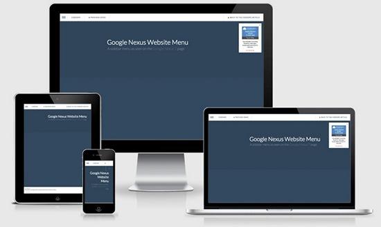 google-nexus-menu