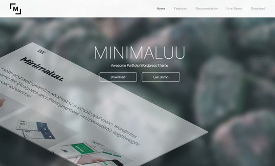 100 best free wordpress themes of 2014 noupe minimalu theme reheart Image collections
