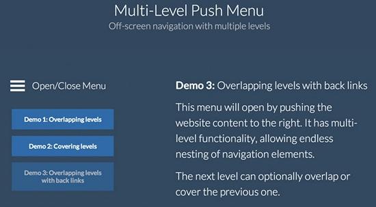 multi-level-push-menu