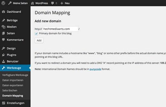 neue-domain-hinzu