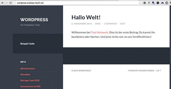neue-wordpress-multisite-website