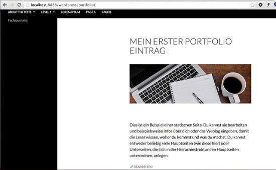 portfolio-eintrag