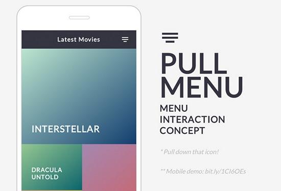 pull-menu