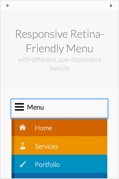 responsive-retina-ready-menu