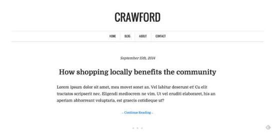 Crawford Theme