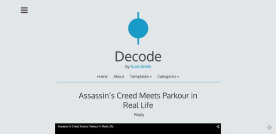 Decode Theme