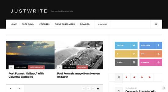 Justwrite Theme