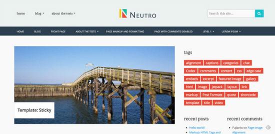Neutro Theme