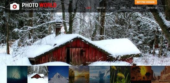 Photo World Theme