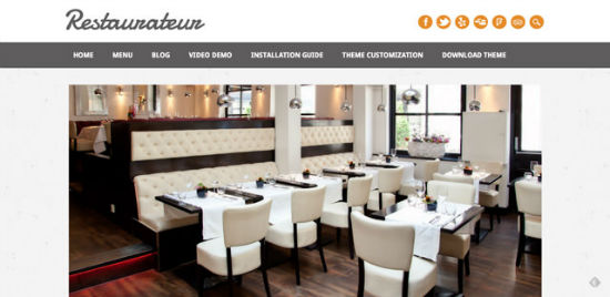 Restaurateur Theme