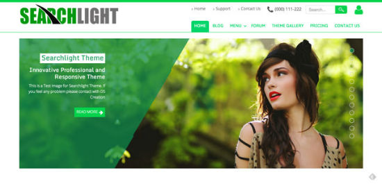 Searchlight Theme