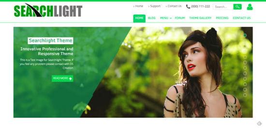 Searchlight Theme