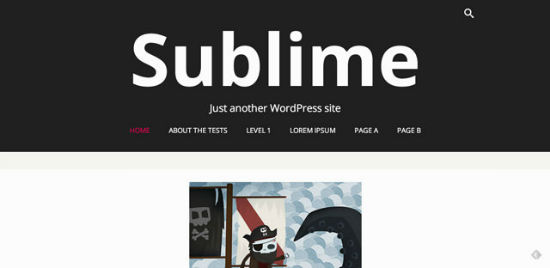 Sublime Press Theme