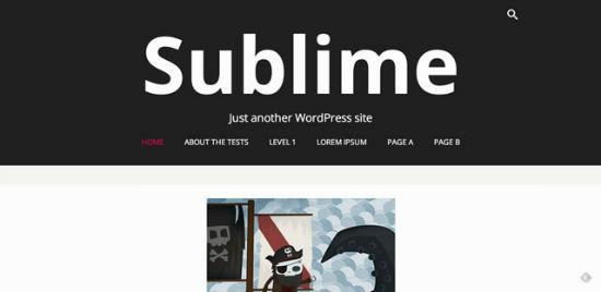 Sublime Press Theme