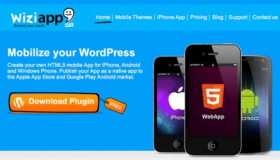 wiziapp-homepage