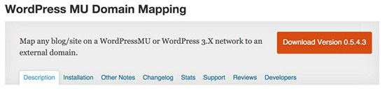 wordpress-mu-domain-mapping-plugin