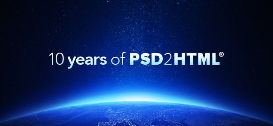 Celebrating 10 Years of PSD2HTML (Anniversary Infographic, Discounts, Giveaway)