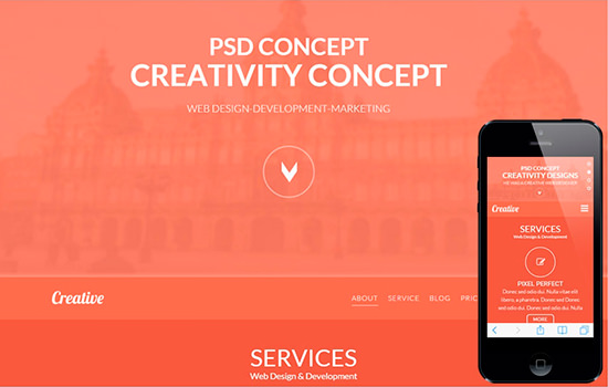 Creativeness: Corporate Bootstrap Template