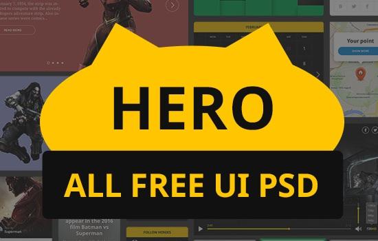 Hero Web UI Kit