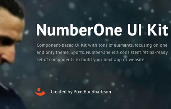 Number One UI Kit