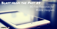 Blast from the Past #8: 90 Free Resources for Mobile Designers