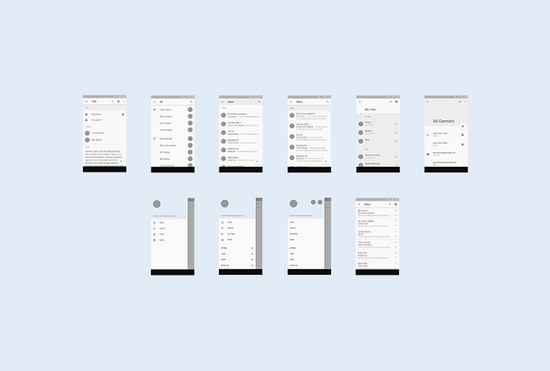 android template