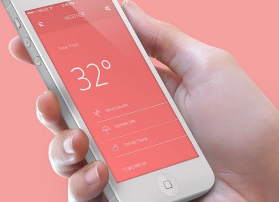 9 screen mobile ui