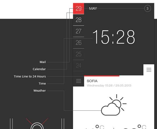 b&w weather app
