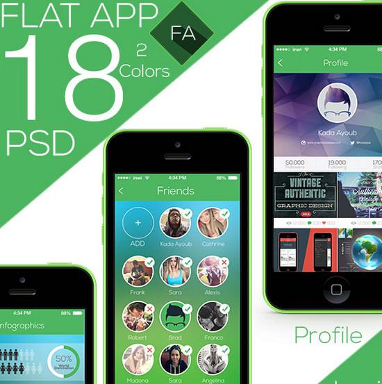 flat app