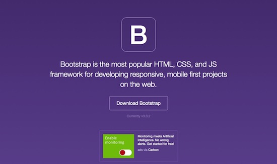 Bootstrap HTML and CSS Framework