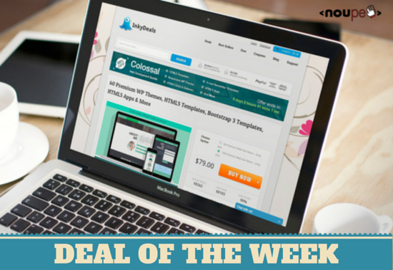 Deal of the Week: Colossal Web Development Bundle with 60 or 158 Elements for Small Money